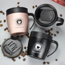330ML Stainless Steel Mug with Handle