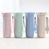 400ML Wheat Straw Hand Cup