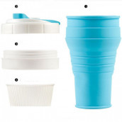 450ML Silicone Collapsible Coffee Cup