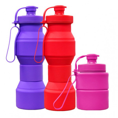 Fold-able Water Bottle, Sports Bottle, business gifts
