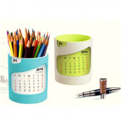 Calendar with Pen holder