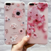 Embossed Painted Phone Case