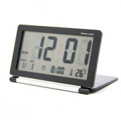 Clamshell Electronic Clock