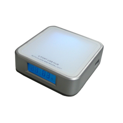 Light-Clock 2-in-1 USB Hub, Watch And Clock, business gifts