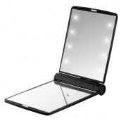 Led Lighted Compact Makeup Mirror