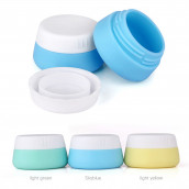 Travel Silicone Cosmetic Containers