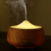 Wood Grain Ultrasonic Cool Mist Humidifier