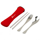 Stainless Portable Tableware Set