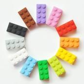 Building Blocks Key Chain