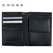 Cross - Leather Bi-Fold Coin Wallet