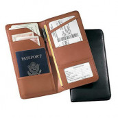 Travel Passport Leather Wallet