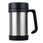 500ML Vacuum Stainless Steel Travel Mug with Handle