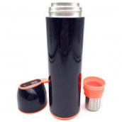 Insulated Vacuum Water Bottle with Smart Temperature Indicator