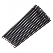 All-Black Wooden Pencil