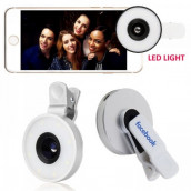 Selfie Light with Fish Eye Lens
