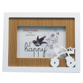 Hollow Wooden Photo Picture Frame