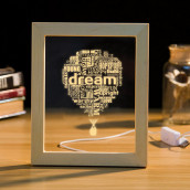 3D Photo Frame LED Night