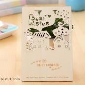Wooden Postcard