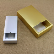 Gold Paper Gift Box