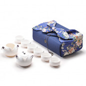 Portable Travel Tea Set Pouch