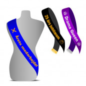 Pageant Sash Banner