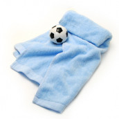 Football Compressed Towel