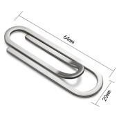 Paper Clip Bookmark Money Clip