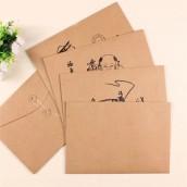 Kraft Paper Project Envelope