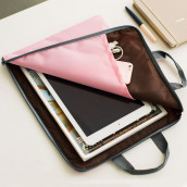 A4 Zipper File Bag