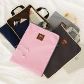 A4 Zipper File Bag