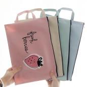 Portable Zipper File Bag