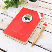 Wooden Notebook