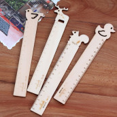 Animal Wooden Ruler
