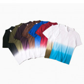Gradient Colors Printed Polo Shirt