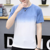 Gradient Colors Printed T-Shirt