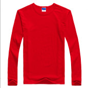 Pure Color Long Sleeve Polo Shirt