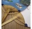 Bamboo Circular Fan, Hand Fan, business gifts