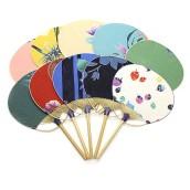 Bamboo Circular Fan
