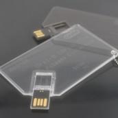 Acrylic Card USB Disk