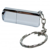 Silver USB Flash Drive