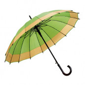 30'' Colorful Double Sided Straight-rod Umbrella Souvenir