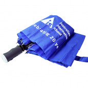 21'' Luminous 3 Folding  Umbrella with Auto Open/Close - Solid