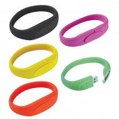 Silicon Wristband USB Flash Drive